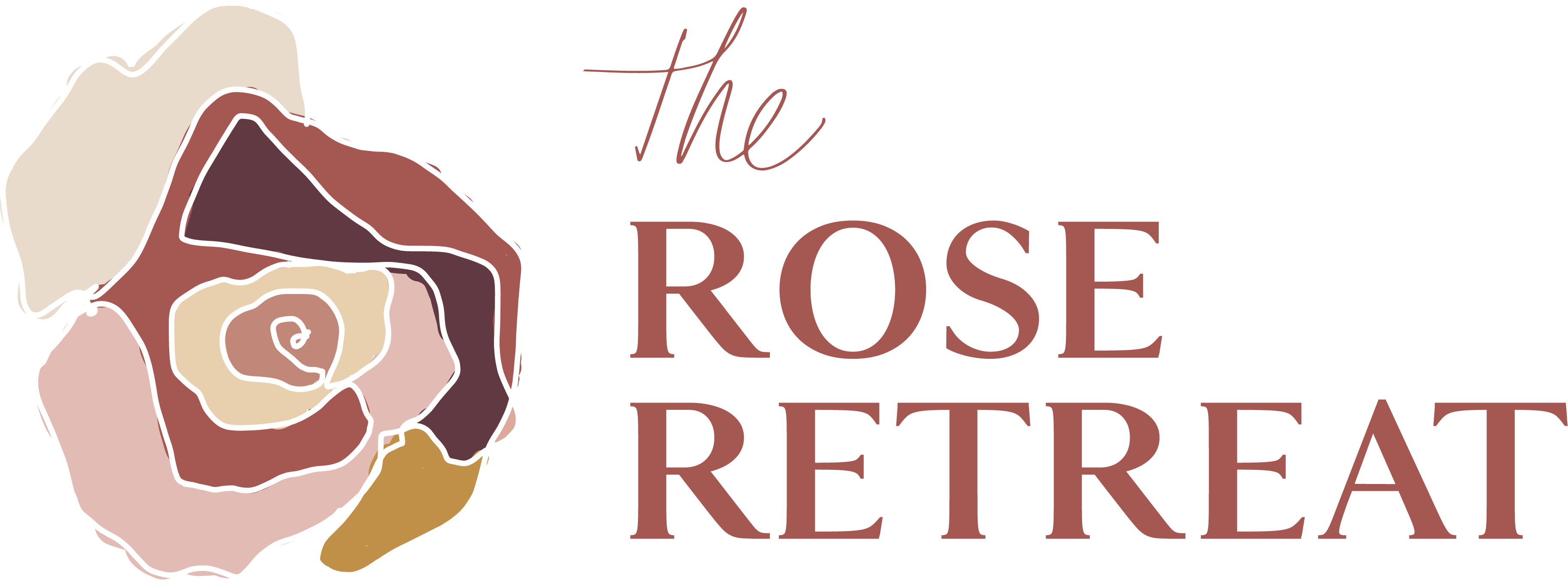 The Rose Retreat - Full Logo