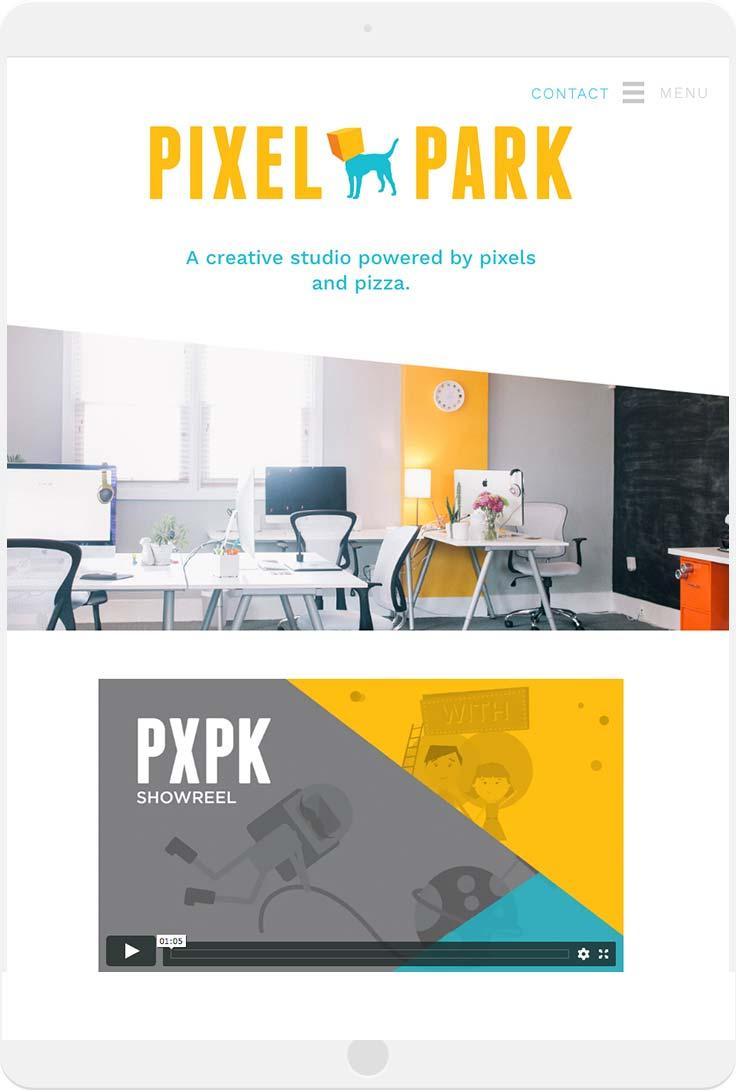 tablet-pixel-park